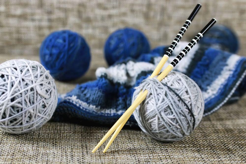 Knitting Needles Ball