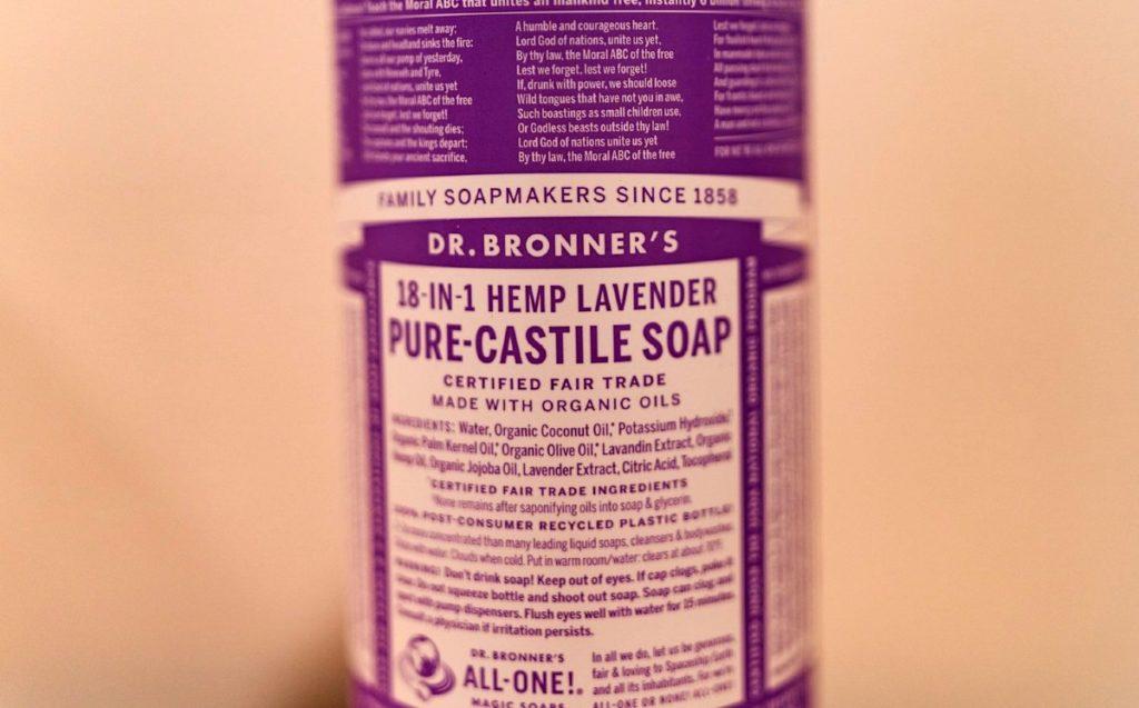 Bronners Castile Soap