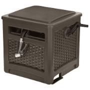 Suncast Resin Hideaway Outdoor Storage Reel