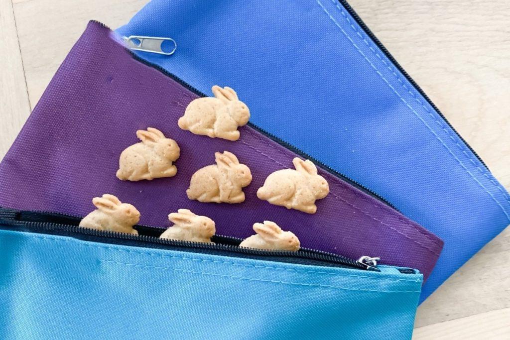 Best Reusable Snack Bags w/ Snacks