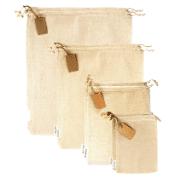Leafico Cotton Produce Bags