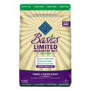 Blue Buffalo Basics Limited Ingredient Grain-Free Formula Turkey & Potato Indoor Mature