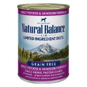 Natural Balance L.I.D. Limited Ingredient Diets Sweet Potato & Venison Formula