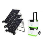 Nature's Generator 1800-Watt Solar Powered Portable Generator