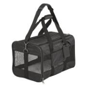 Frisco Premium Travel Dog & Cat Carrier Bag, Black