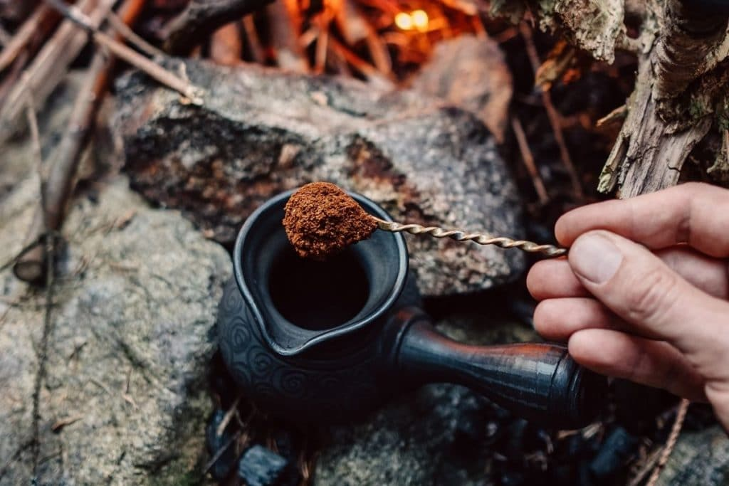 How to Make Coffee While Camping - Cowboy Coffee