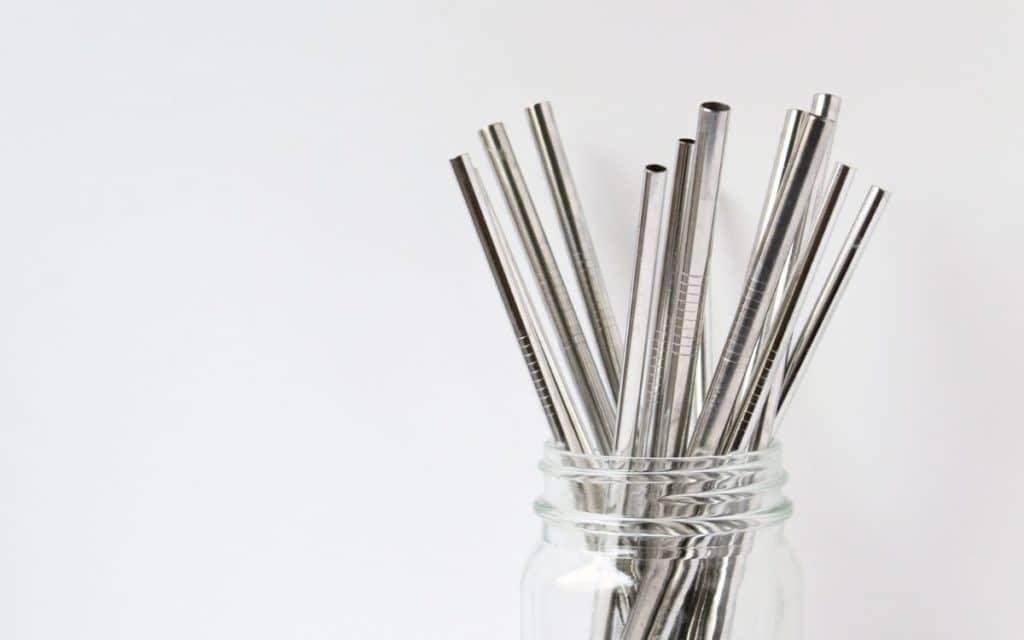 Best Reusable Metal Straws in Glass