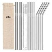 Grilljoy Stainless Steel Straws