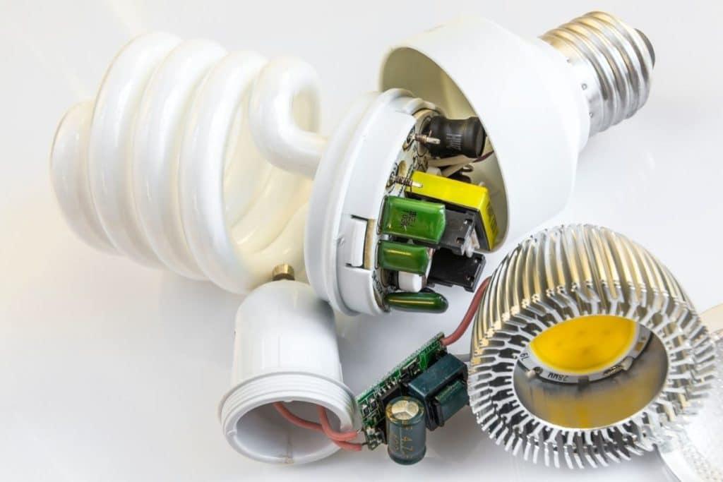 Halogen vs LED vs CFL Eco-friendly