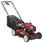 Troy-Bilt Check Dont Change Oil Self-Propelled Lawn Mower