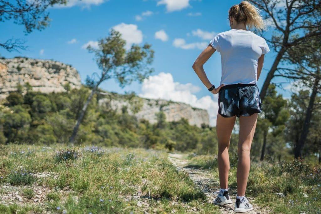 Woman enjoying one of the Best Hiking Shorts