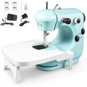 Laixwec Portable Multi-Speed Sewing Machine