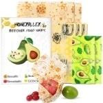 HoneyAlley 7-pack Reusable Beeswax Food Wrap