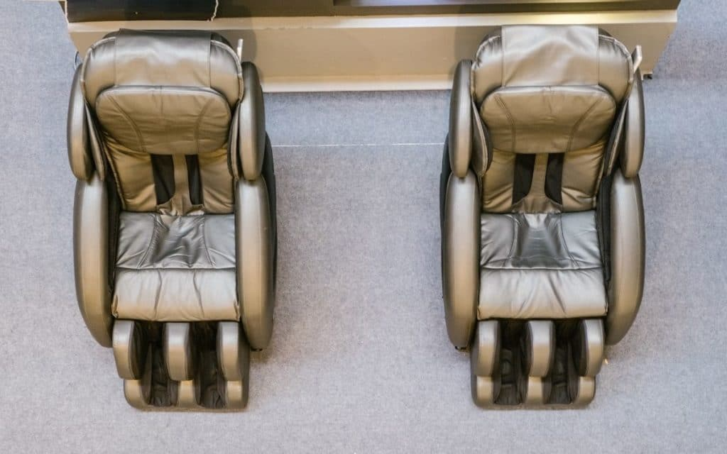 Two Massage Chairs with Distinguished Features