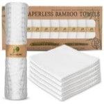 Washable Bamboo Paper Towel Alternatives