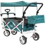 Creative Outdoor Push Pull Folding Wagon