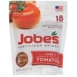 Jobe's Tomato Plant Food Fertilizer Spikes