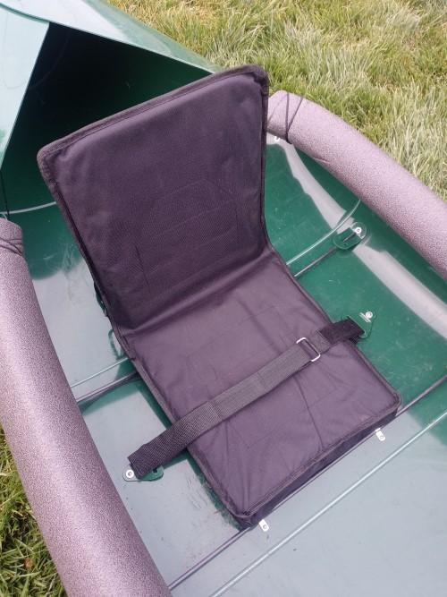 tucktec folding kayak review, seat look