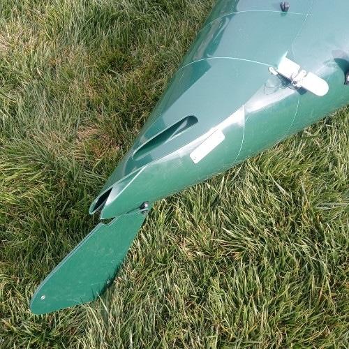 tucktec folding kayak rudder